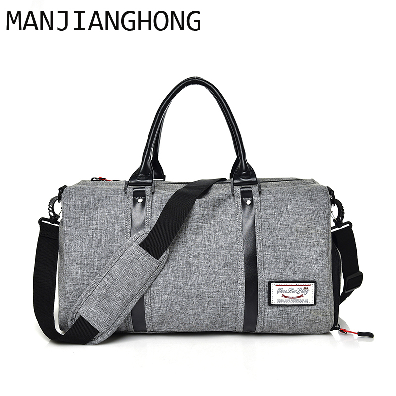 2018 New Men and women Travel Luggage Bag Big Tote Carry-on Duffle bag waterProof nylon Large Capacity Handbags Shoulder Bags tegaote newest women travel bags large capacity duffle luggage big casual tote bag nylon waterproof bolsas female handbags