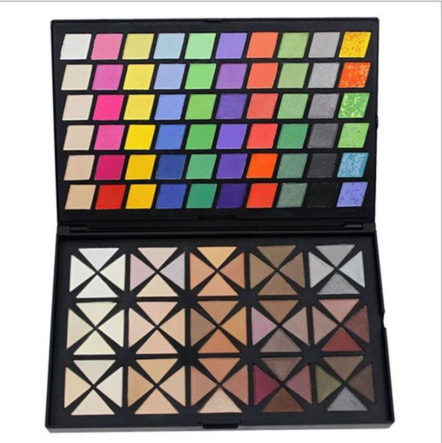 120 cores de sombras sombra cosmética paleta de maquiagem Set Cosplay maquiagem sombra grátis frete