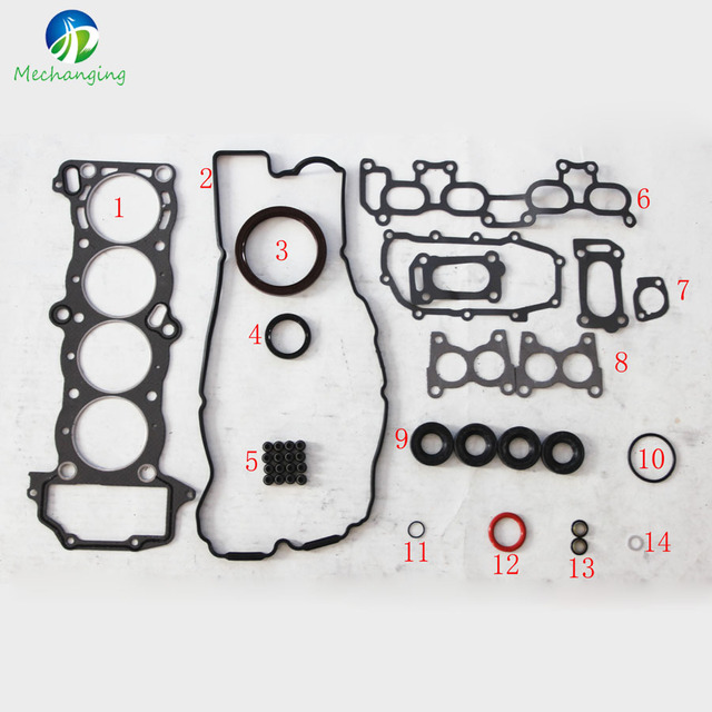 FIT NISSAN PRIMERA 16V GA16DS Full Gasket Set engine parts gasket ...