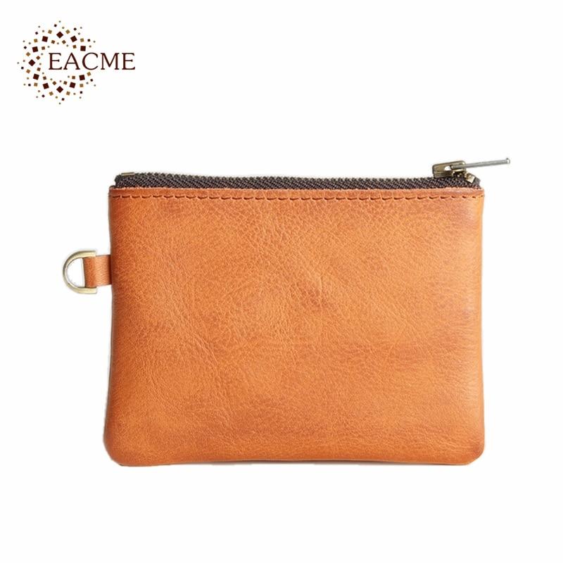 EACME Handmade Vintage Leather Bank Credit Card Holder Cowhide ...