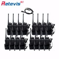 16pcs Talkie Walkie Retevis H777 3W UHF Band CTCSS/DCS Scan Monitor Portable Radio Station H-777 Ham Radio Hf Transceiver Moscow