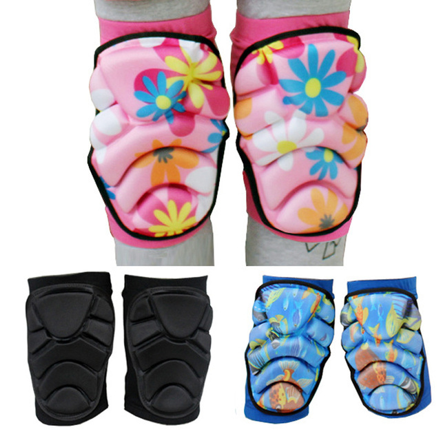 Children Kids Knee Pad Ice Skating Skiing Protective Gear UNBreak Pads Bicycle Skateboard Roller Thicken Protector For Boy Girls