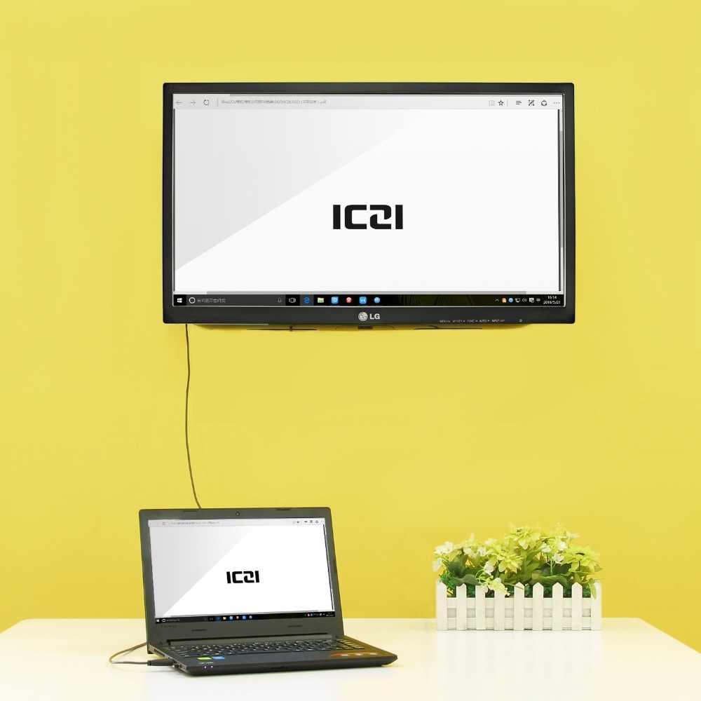 ICZI สาย HDMI สาย HDMI to HDMI Gold-plated 4k 3D 60Hz สำหรับ PC แล็ปท็อปแท็บเล็ต HDTV โปรเจคเตอร์ PS3 PS4 STB Xbox 360 1m 1.8m