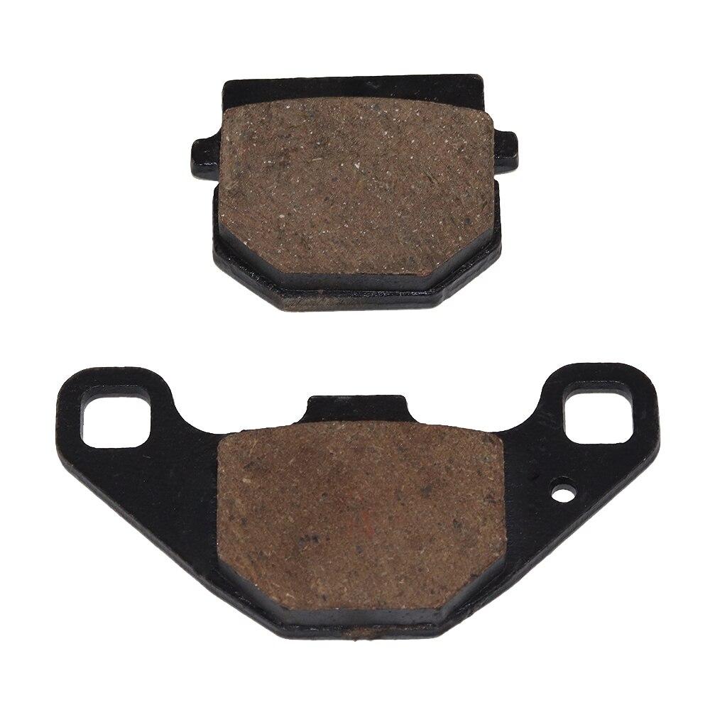 Motorcycle Semi-metal Sintered Front or Rear Brake Pads For Suzuki AH 100 P Address UE 125 150 CTK1 RM 80 85 Free shipping