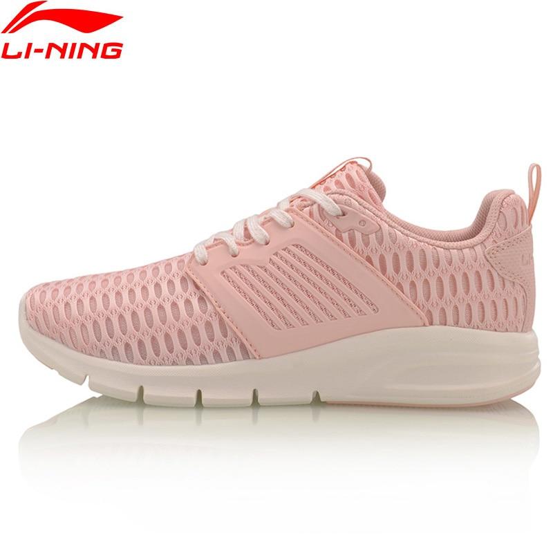 (Break Code)Li-Ning BULLET Walking Shoes Women Wearable LiNing Li Ning Sport Shoes MONO YARN Breathable Sneakers AGCM126 YXB075