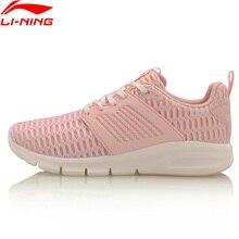 (Break Code) li ning BULLET buty do chodzenia kobiety Wearable LiNing Li Ning buty sportowe MONO przędza oddychające sneakersy AGCM126 YXB075