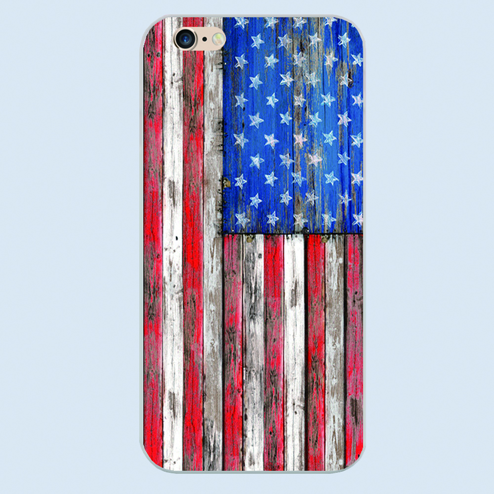 All kinds of the American USA flag design plastic cover phone case For Apple iphone 4 4s 5 5c 5s 6 6s plus hard shell