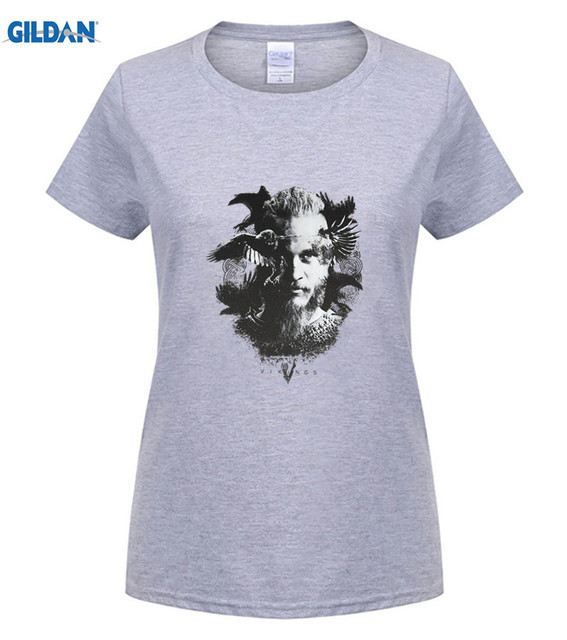 825d8674b Αγορά Μπλούζες & μπλουζάκια | Mens Official Vikings TV Series Odin's ...