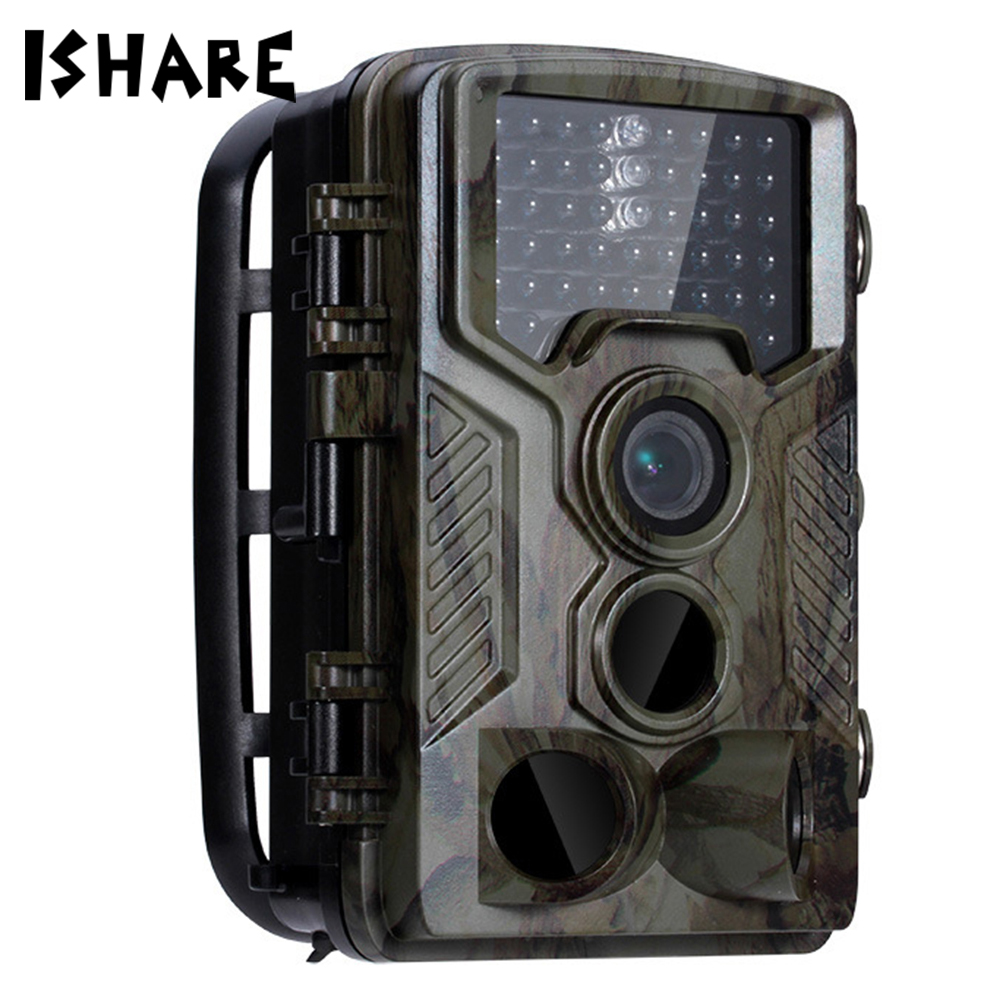 H801 Tactical Hunting Camera Infrared Wildlife Trail Photo Trap IP56 Waterproof Precise Video Recorder Camera for Security Farm free shipping wildlife hunting camera infrared video trail 12mp camera