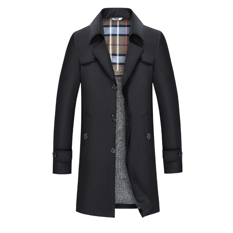 Spring Autumn Mens Trench Coat Male Blazer Designs Slim Fit Business Casual Suit Trench Jacket Windbreaker Plus Size 7XL 8XL 9XL