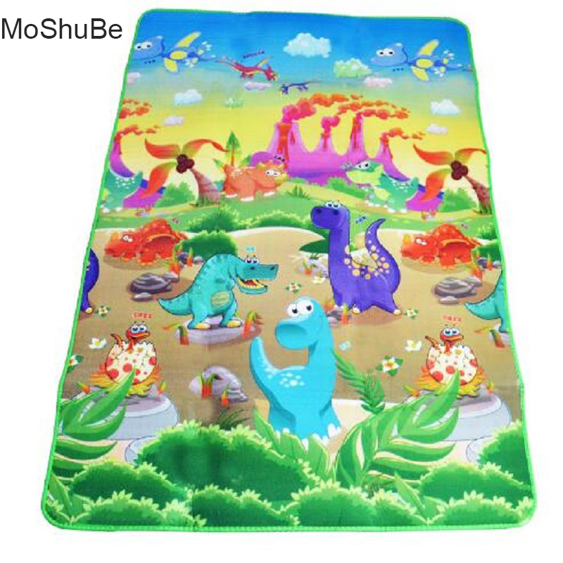 Kids Puzzle Play Mats 180*120cm 0.3cm Thickness Playing Blanket Baby Climbing Rug Carpet For Children Crawling Activity Gym Toys