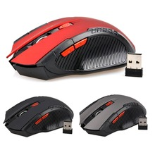 Hot 2.4Ghz Mini Wireless 2400DPI Optical Gaming Mouse For PC Gaming Laptops New Game Wireless Mice with USB Receiver