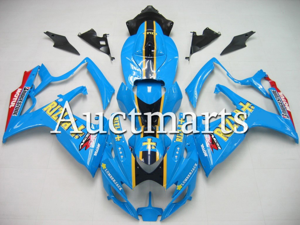 Fit for Suzuki GSX-R 600 2006 2007 ABS Plastic motorcycle Fairing Kit Bodywork GSXR600 06 07 GSXR 600 GSX R600  CB21 new motorcycle ram air intake tube duct for suzuki gsxr600 gsxr750 2006 2007 k6 abs plastic black