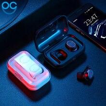 OGV Stereo Music Earphones Binaural name Bluetooth 5.zero Headset Sports activities Headphones Jogging Earbud For iPhoneSE 7 eight Xiaomi Sony