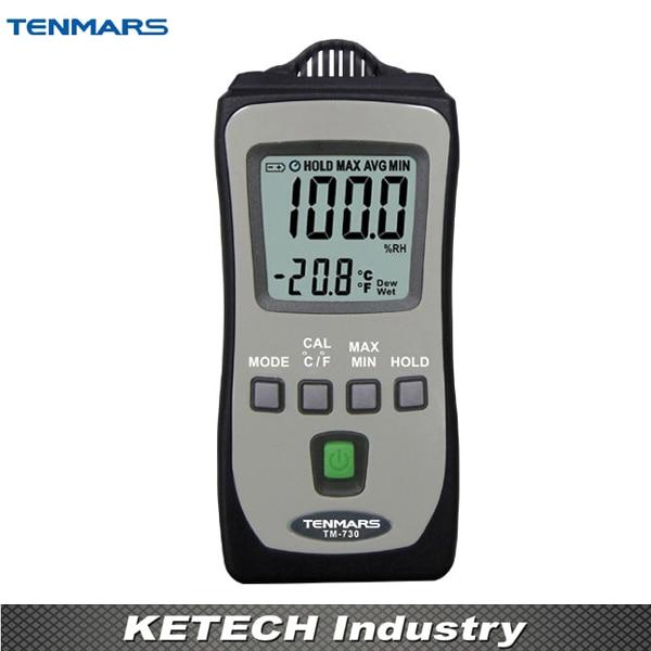 Pocket Size Thermometer and Hygrometer Meter TM-730 цены