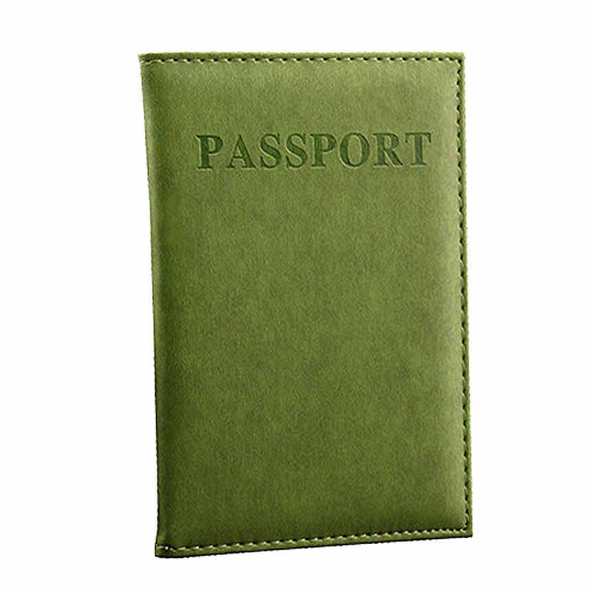 Vrouwen Mannen Gewijd Mooie Reizen Paspoort Case ID Card Cover Protector Organizer Bag ForWomen Mannen EEN #8