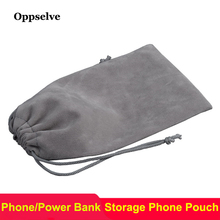 hot deal buy oppselve power bank case phone pouch for iphone samsung xiaomi huawei waterproof usb cable storage bag mobile phone accessories