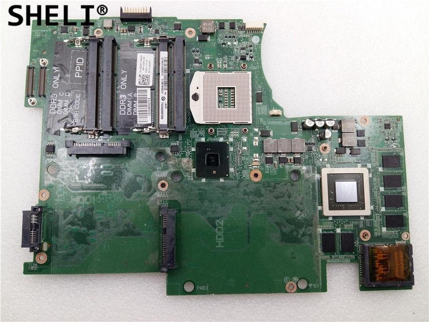 SHELI 53JR7 053JR7 CN-053JR7 For Dell 17 L701X Motherboard HM57 3G DAGM7BMBAF0