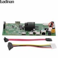 GADINAN 4CH CCTV H 265 H 264 NVR Board 5MP HI3798M Security NVR Module 4CH 5MP