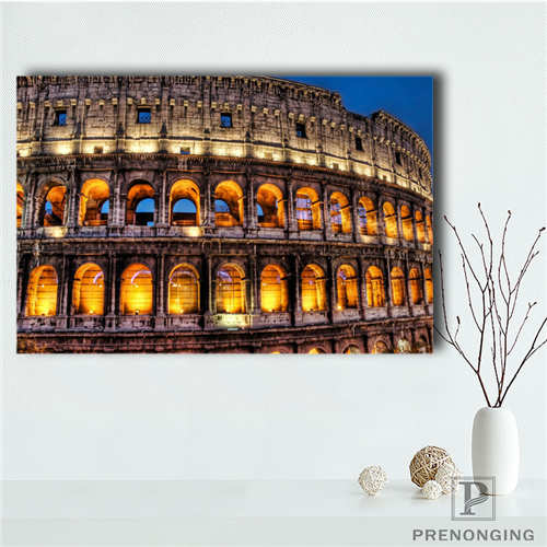 Custom Canvas Poster roman forum (1) Printing Posters Cloth Fabric Wall Art Pictures For Living Room Decor#18-12-05-H-06-299 image