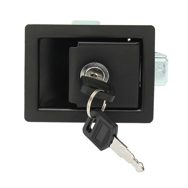 MTGATHER RV samochód wiosło blokady drzwi wejściowe zatrzask pokrętło blokady przyczepy + klucze około 9x6.8x4 cm