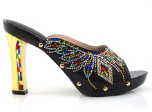 Fashion african italian Shoes Ladies Shoes for party many color can be select size 38 43HYY1