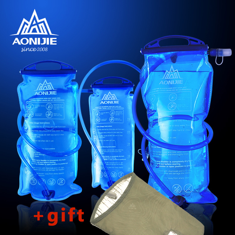 AONIJIE 1L/1.5L/2L/3L Outdoor Cycling Running Foldable TPU Water Bag Sport Hydration Bladder For Camping Hiking ClimbingAONIJIE 1L/1.5L/2L/3L Outdoor Cycling Running Foldable TPU Water Bag Sport Hydration Bladder For Camping Hiking Climbing