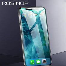 ROSINOP Phone Screen Protector 10D Scratch Proof Tempered Glass For iphone XR 6 7 8 plus Protective Film XS Max