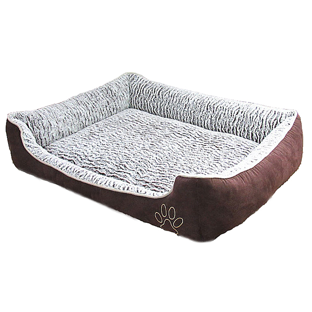 online buy wholesale modern dog bed from china modern dog bed  - modern stylish footprint dogs house high quality pp cotton fill soft warmpet nest four seasons
