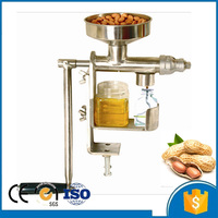 90% High Oil Recovery Hand Operated Home Use Mini Oil Pressing Screw Oil Press Machine