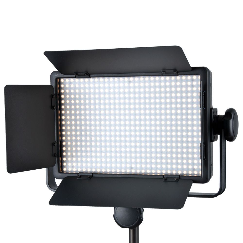 Godox LED500C (Lux: 2900) 3300K-5600K LED Video Continuous Light Lamp Panel godox professional led video light led500c changeable version 3300k 5600k battery dual charger 2m light stand