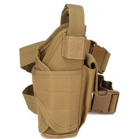 Army Fans CS Shooting Pistol Gun Holster Molle Accessory Pouch Multi Function Outdoor Sport Hunting Tactical