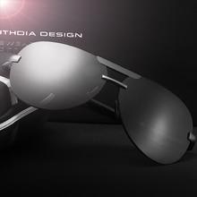 Aluminum Magnesium Rimless Men's Sunglasses Polarized UV400 Lens Sun Glasses Male Eyewears Accessories For Men стоимость