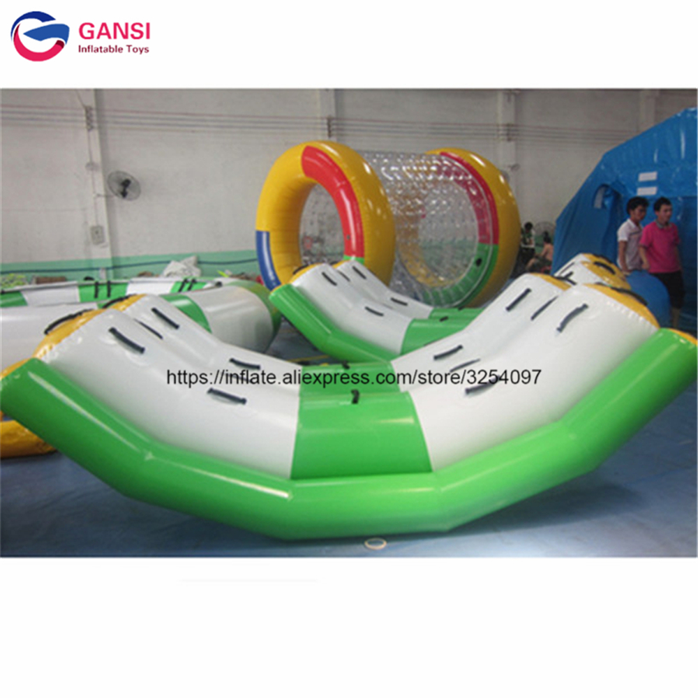 Inflatable water tube 3m*2.2m PVC durable inflatable water seesaw double rocker climbing water seesaw for kids and adultInflatable water tube 3m*2.2m PVC durable inflatable water seesaw double rocker climbing water seesaw for kids and adult