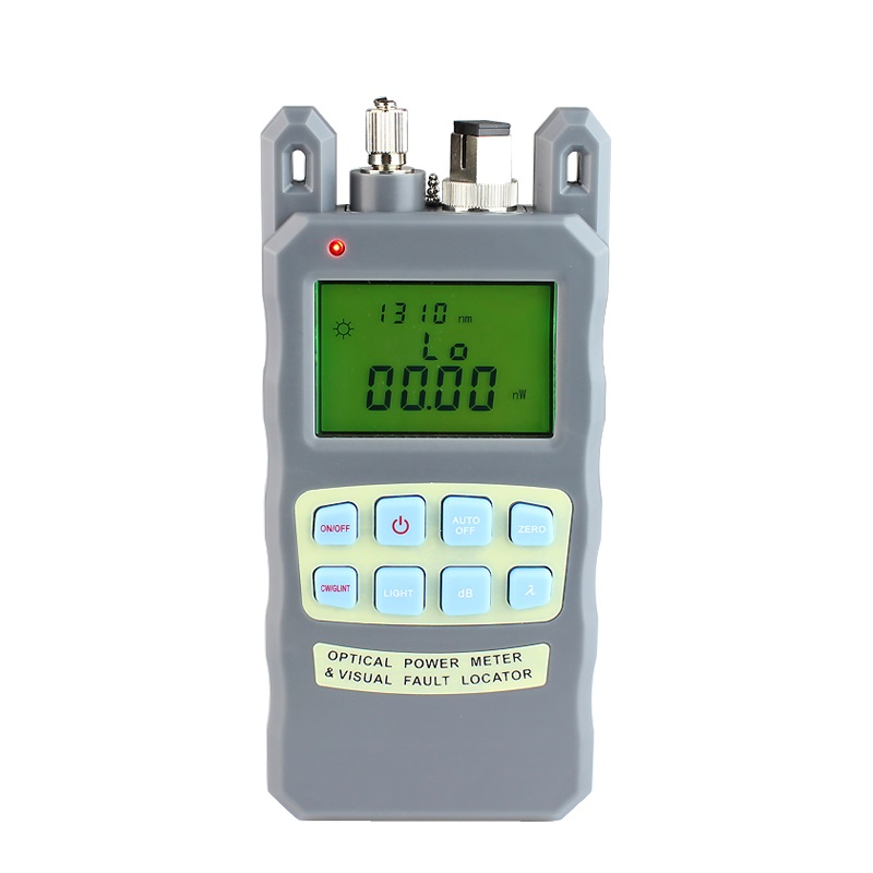All-IN-ONE Fiber optical power meter -70 to +10dBm and 10mw 10km Fiber Optic Cable Tester Visual Fault LocatorAll-IN-ONE Fiber optical power meter -70 to +10dBm and 10mw 10km Fiber Optic Cable Tester Visual Fault Locator