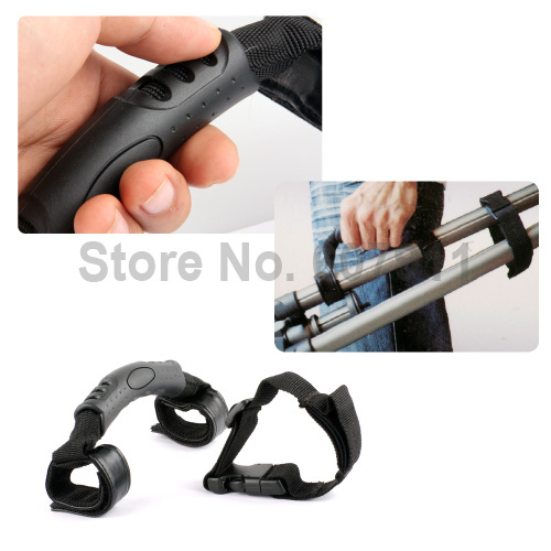 NEW Tripod Carrying holder hand Handle Buckle Strap Set kit for Tripods Benro Manfrotto