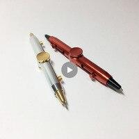 Hand Fidget Spinner Metal Fidget Pen Novelty Fidget Spinner Anti Stress Pen For School Pen Interesting