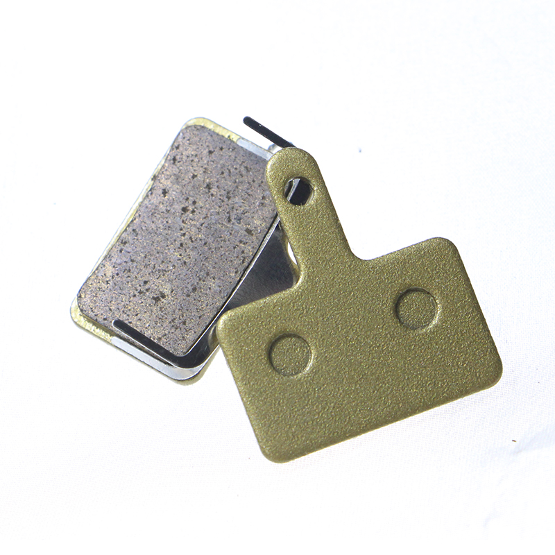 2 Pairs Copper Alloy Sintered Bicycle Brake Pads for Shimano Deore M465 475 515 525/Auriga Comp/Clarks S2/Tektro Draco/TRP Spyre