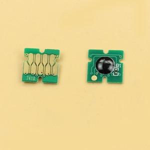 Image 2 - 400 PCS ใหม่ล่าสุด F6200 ชิปสำหรับ Epson SC F9200 F7200 F6270 F9270 F7270 ชิป 100 Cyan, 100 M, 100 Y, 10BK, 90HDK