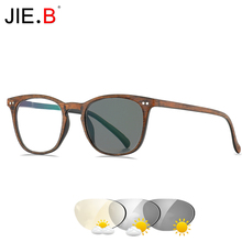 JIE.B Brand New Transition Sunglasses Photochromic Reading Glasses Men Women Presbyopia Eyewear with diopters glasses