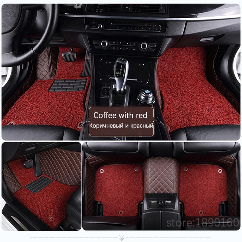 Custom car tappetini per Haval Tutti I Modelli H1 H2 H3 H4 H6 H7 H5 H8 H9 M6 H2S H6coupe car styling accessori auto del rilievo del piede