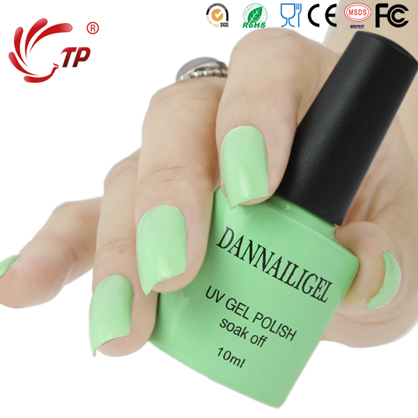 ᓂDannail gel #2 dannail color verde 10 ml larga duración soak off ...