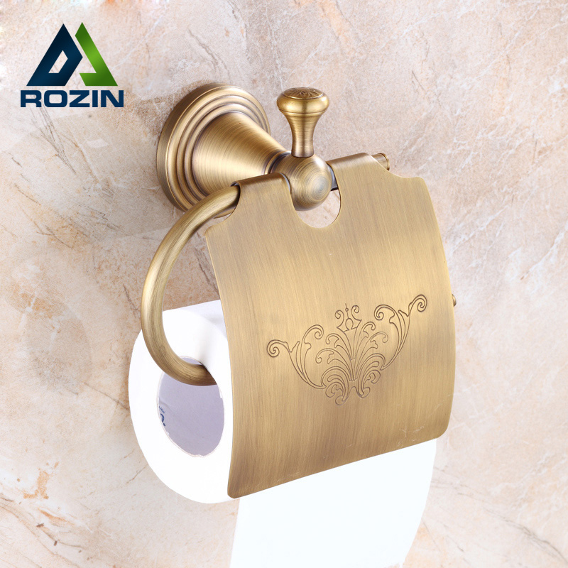 Free Shipping Creative Design Toilet Roll Paper Holder Wall Mounted Bathroom Paper Rack with Square Cover luxury golden color toilet paper holder wall mounted roll toilet paper rack with cover bathroom accessories free shipping 3308