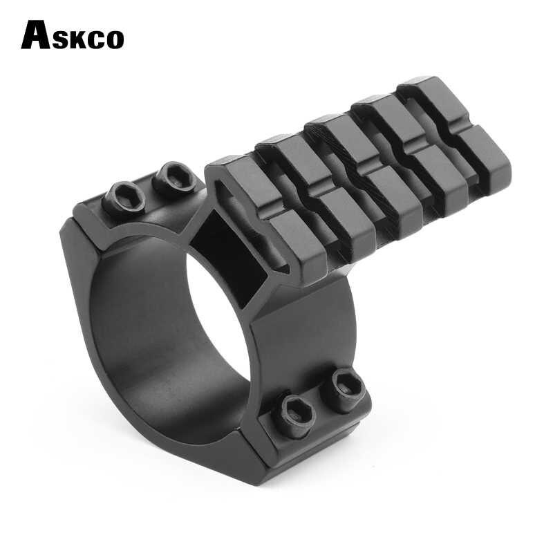 """Askco Riflescope הר צינור חבית 25.4 מ""""מ 30 מ""""מ היקף טבעת מתאם 20 מ""""מ ויבר Picatinny רכבת עם 1'' הר הכנס"""