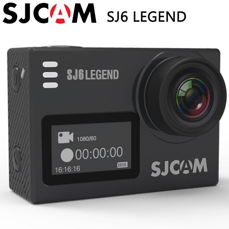 SJCAM SJ6 Legend Sports Action Camera DV 4K Wifi 30m Waterproof 1080P Ultra HD 2.0 Touch Screen Notavek 96660 Remote SJ Cam