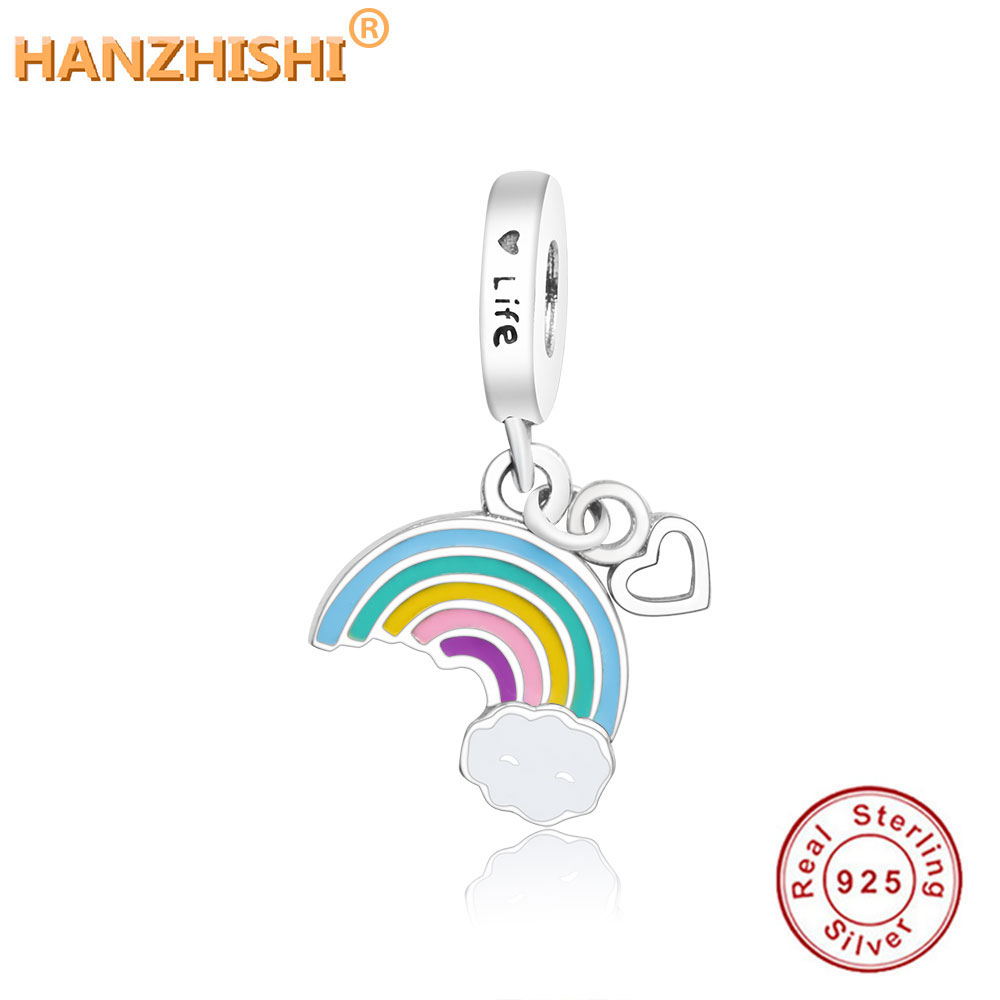 pandora collana cuore arcobaleno