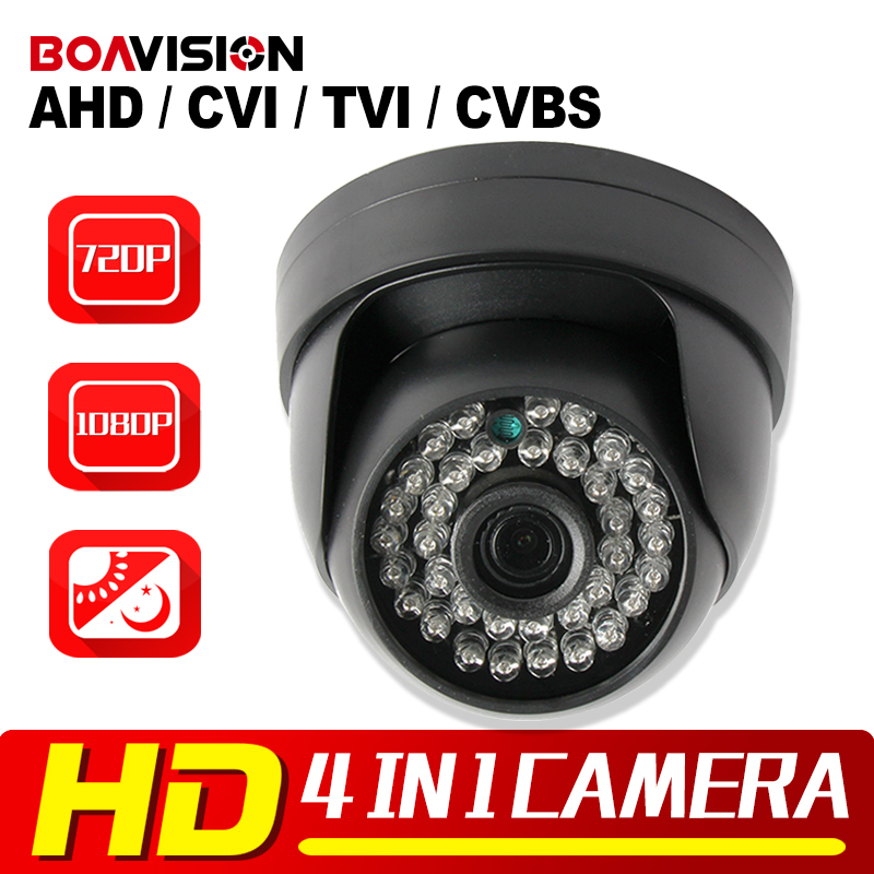 HD 720P 1080P AHD Camera Hybrid CVI TVI CVBS 4 IN 1 With OSD Menu Free Switch IR 20M NightVision 1.0MP 2MP CCTV Security Camera 33x zoom 4 in 1 cvi tvi ahd ptz camera 1080p cctv camera ip66 waterproof long range ir 200m security speed dome camera with osd