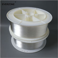 무료 배송 광섬유 1mm 엔드 라이트 pmma 플라스틱 광섬유 케이블 스풀 1500m 광섬유 램프 케이블