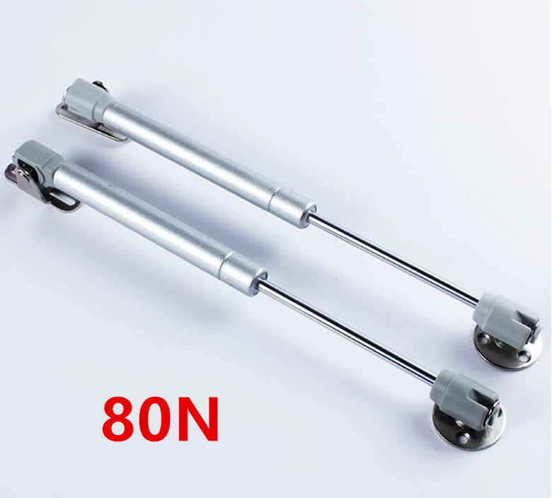 New 80N Furniture Hinge Kitchen Cabinet Door Lift Pneumatic Support Hydraulic Gas Spring Stay Hold Pneumatic Hardware