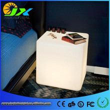 30*30*30CM LED Light Cube Stool Bar Party Event Decoration 16 Color-Changing Night Light Disco Chair LED Seat Hotal Home Lamp